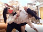 卍固めで攻めてたプ女子がマンコ固めで中出しKOされてる映像